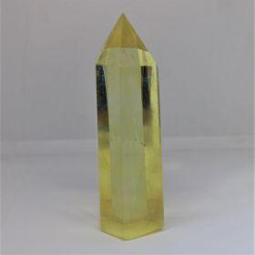 Obelisk van Lemon/Citroen Kwarts