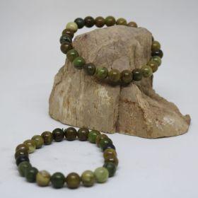 Armband van Groene Lace Agaat