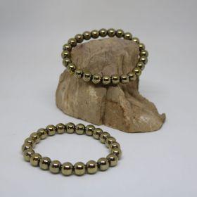 Armband van Hematiet in Pyriet