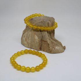 Armband van Jade Geel