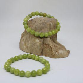 Armband van Jadeniet Groen