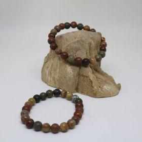 Armband van Jaspis Multi Colour