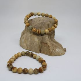 Armband van Jaspis Picutre