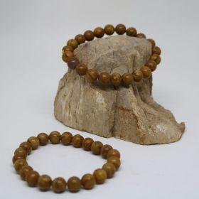 Armband van Jaspis Hout