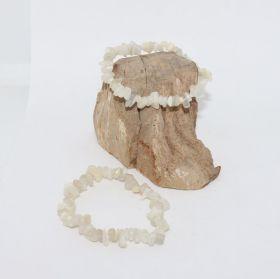 Split Armband van Maansteen