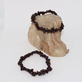 Split Armband van Granaat