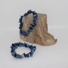 Split Armband van Lapis Lazuli
