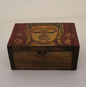 Houten Boeddha doosje