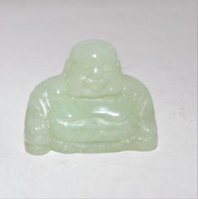 Groene Jade Boeddha 3,5 cm