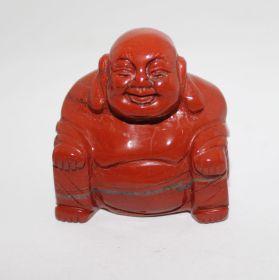 Jaspis Rood Boeddha 3,5 cm