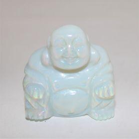 Opaline Boeddha 5cm hoog