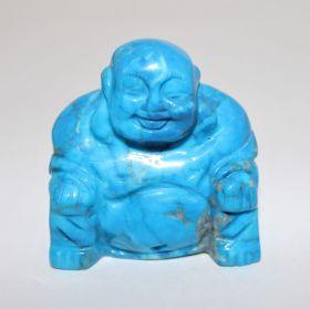 Turquereniet Boeddha 5cm hoog