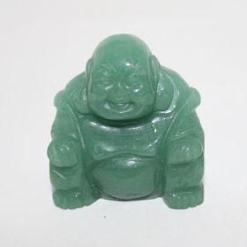 Groene Aventurijn Boeddha 5cm hoog
