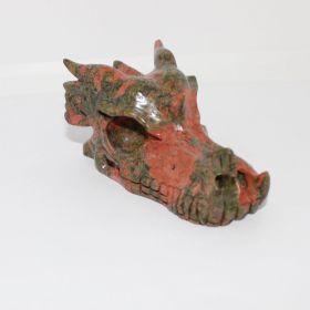 Draken schedel van Unakiet
