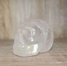 Schedel van Bergkristal