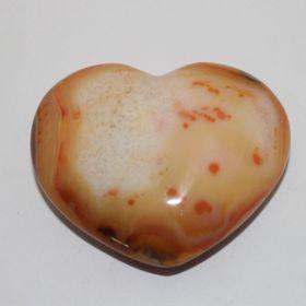 Hart van Carneool 7 cm