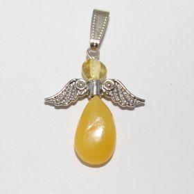 Engel van Barnsteen met zilveren vleugels