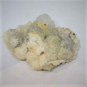 Bergkristal met Calciet