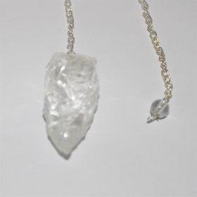 Pendel van ruwe Bergkristal