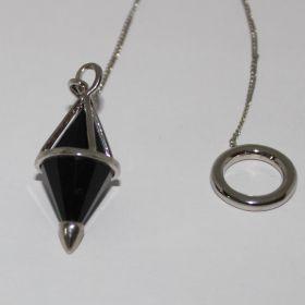 Pendel van zwarte Onyx