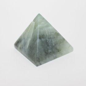 Piramide van Groene Jade 40 mm