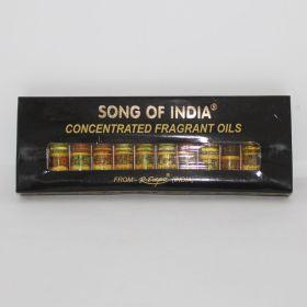 Song of India set van 12 parfumoliën