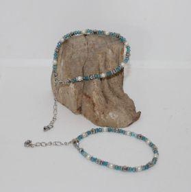 Armband van TGoermalijn en parels