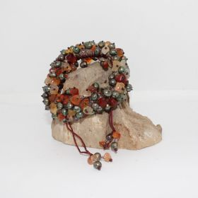 Zomer Collectie armband met Carneool