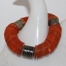 Armband van Capiz schelpen