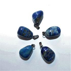 Druppelhanger Lapis Lazuli natuurlijk