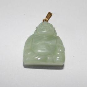 Dikbuik boeddha hanger van Jade