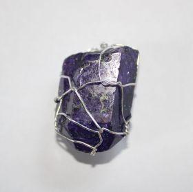 Hanger van gekleurde Bergkristal XL