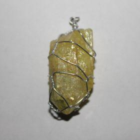 Hanger van gekleurde Bergkristal