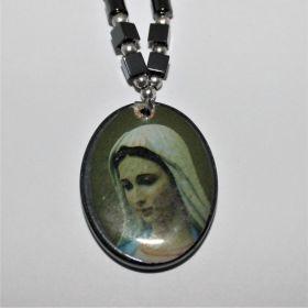 Religieuze ketting van Maria