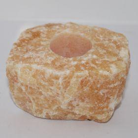 Theelicht van Oranje Calciet