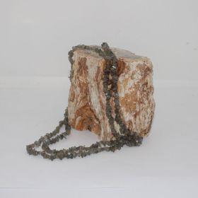 Split ketting van Labradoriet