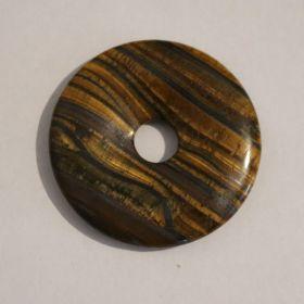 Donut Tijgeroog 4 cm per 10 stuks