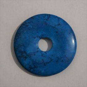 Donut Howliet Turkuoois 5 cm per 3 stuks