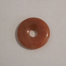 Donut Oranje Calciet 3 cm