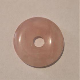 Donut Rozenkwarts 3 cm