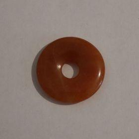 Donut Carneool 3 cm per 5 stuks