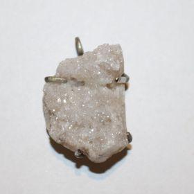 Hanger van Bergkristal geode