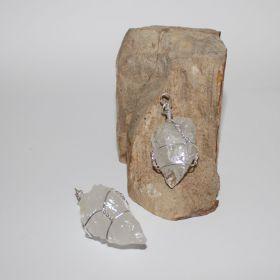 Hanger van ruwe Bergkristal
