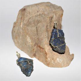 Hanger van ruwe Lapis Lazuli