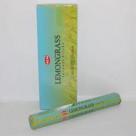 Lemongras wierook slof van 6 pakjes