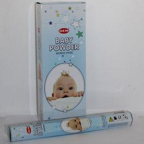 Baby Powder wierook slof van 6 pakjes